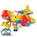 英國【WOW Toys 驚奇玩具】叢林飛機 大黃蜂強尼