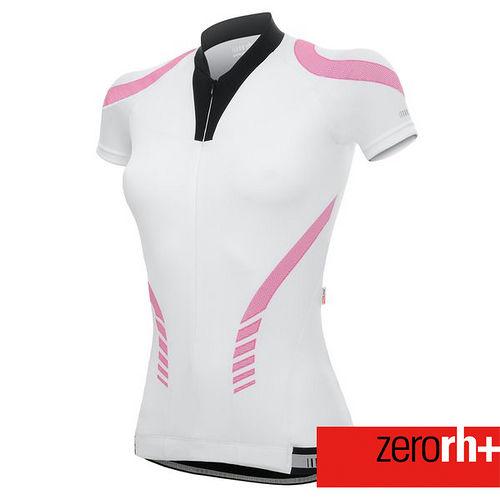 ZERORH+ 時尚造型貼花頂級排汗自行車衣(女) ECD0153