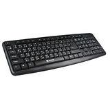 【KINYO】USB精緻標準鍵盤(KB-31U)