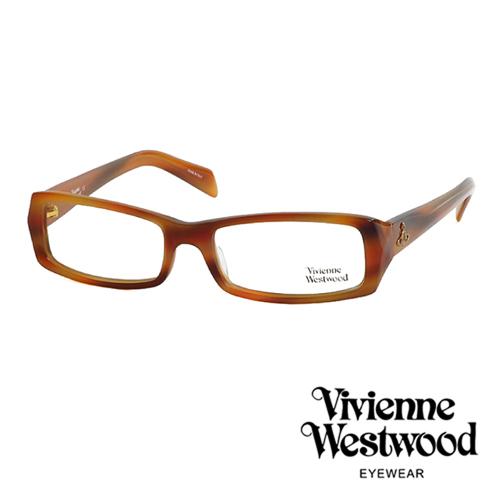 Vivienne Westwood 英倫龐克雙色板料光學眼鏡(琥珀色) VW195G03