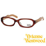 Vivienne Westwood 光學鏡框★英倫時尚菱格紋★復古粗框 平光鏡框(黑) VW20501