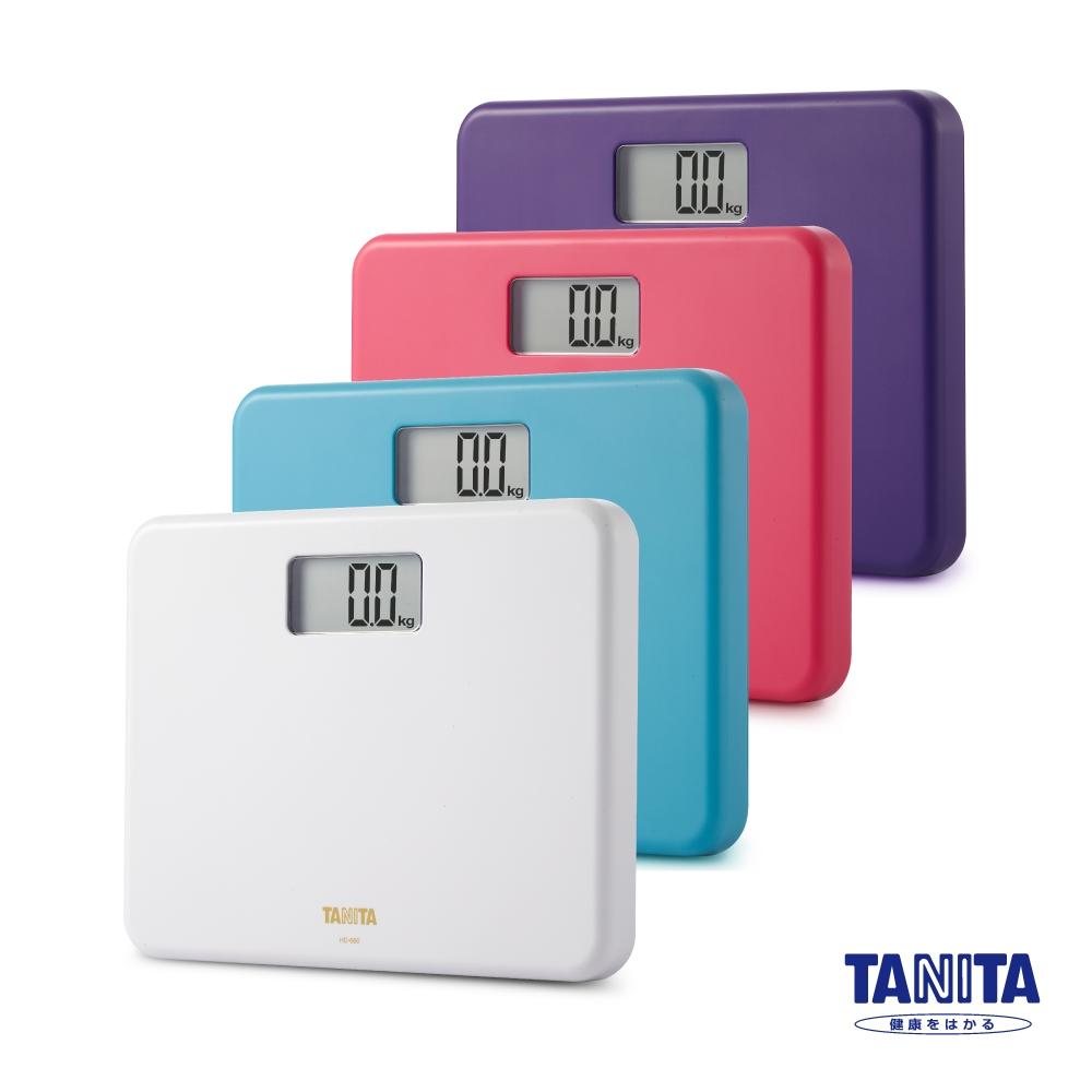 日本TANITA粉領族迷你全自動電子體重計HD-660 四色
