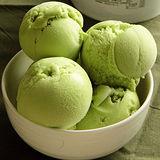 【吉農冰城】抹茶冰淇淋(1公升x4盒)