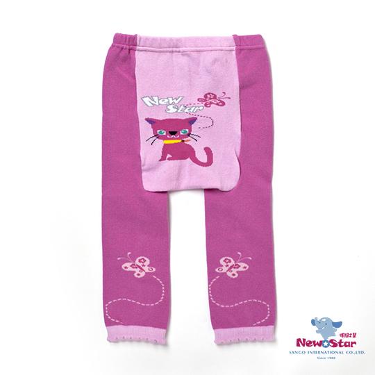 【聖哥-Newstar】MIT兒童幼兒可愛內搭/屁屁褲-紅-粉紅-貓咪-超有彈性-立體剪裁好好穿-媽咪推薦貼身好品質-秋冬保暖