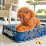 凱蕾絲帝-中小型寵物專用獨立筒彈簧床墊(45*60*11cm)