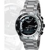 TISSOT SEA-TOUCH 觸控多功能潛水錶-黑 T0264201105100