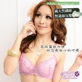 【安吉絲】親膚蠶絲高雅機能內衣褲/A-D罩杯(淺紫)