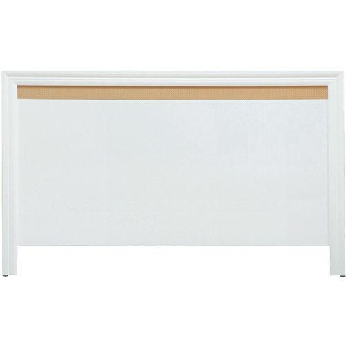 【優利亞-低調線條】單人3.5尺床頭片(白色)