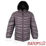 【瑞多仕-RATOPS】男20丹超輕羽絨衣.羽絨外套.保暖外套.雪衣. RAD357 (石墨色/黑色)