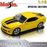 2010 Chevrolet Camaro SS RS《1/18 》合金模型車(黃)