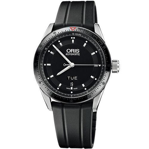 Oris Artix GT 單向轉圈機械腕錶~黑 橡膠 735.7662.44.34RS