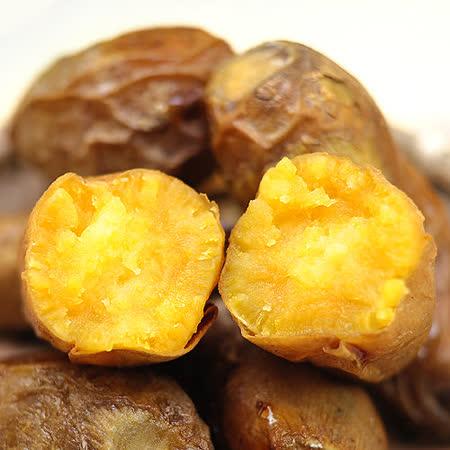 【那魯灣】養生冰烤地瓜3包(5斤/包)(冰薯、冰烤蕃薯) -friDay購物