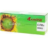 KRONE EPSON C1700 全新環保紅色碳粉匣S050612