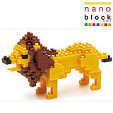 《Nano Block迷你積木》獅子 (NBC-057)
