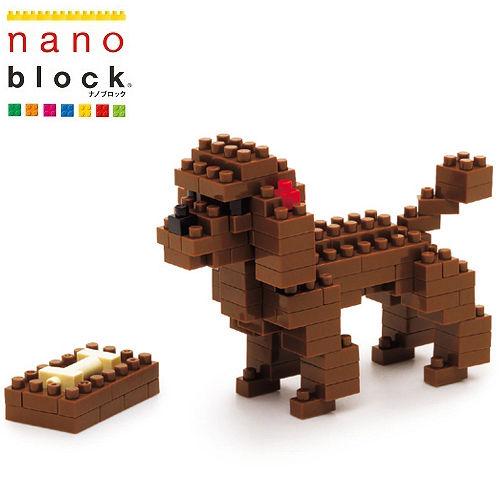《Nano Block迷你積木》紅貴賓狗 (NBC-060)