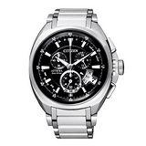 CITIZEN 強烈型男光動能電波計時腕錶 BY0020-59E