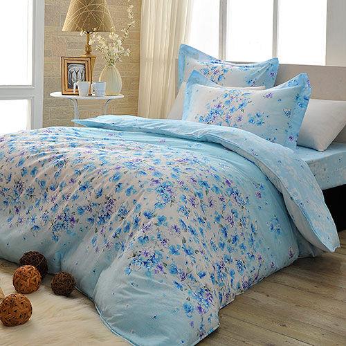 義大利La Belle雙人四件式舖棉兩用被床包組