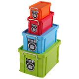 DOLEDO 達人收納盒(XL+L+M+S)-4合1