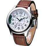 TOMMY HILFIGER 飛行時尚腕錶 M1790842 綠刻度