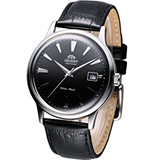 ORIENT 都會尊爵機械腕錶 FER24004B黑