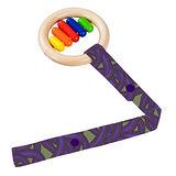 美國TutimNYC手工玩具吊帶 - 紫色豆莖 TTS022