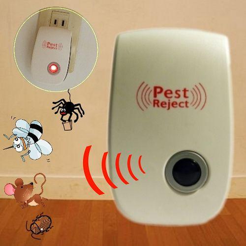 Bunny最新全方位超音波驅蚊器驅蟲器驅鼠器(二入)