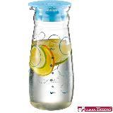 CafeDeTiamo 玻璃水壺【藍色幾何圖案】1000ml HG2224