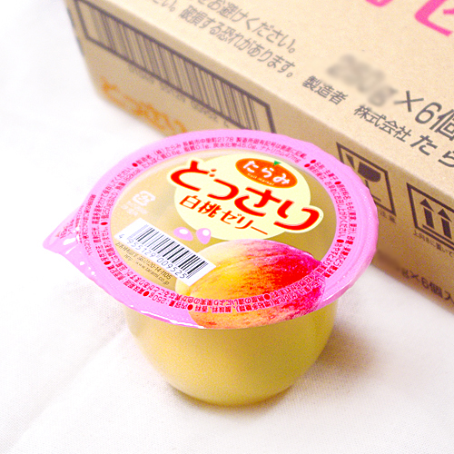 鮮果日誌 白桃舞凍6入組