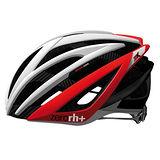ZERORH+ 碳纖維自行車安全帽 ZX系列★紅色款★附專屬防塵袋 EHX6051