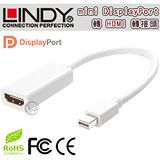 LINDY林帝 mini DisplayPort公 轉 HDMI母 轉換器 (41014)【相容Thunderbolt】