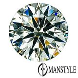 MANSTYLE-GIA 0.60ct F-VS1 八心八箭裸鑽