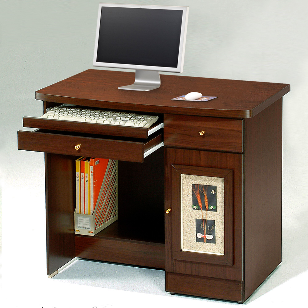 Homelike 自然風味電腦桌(二色)