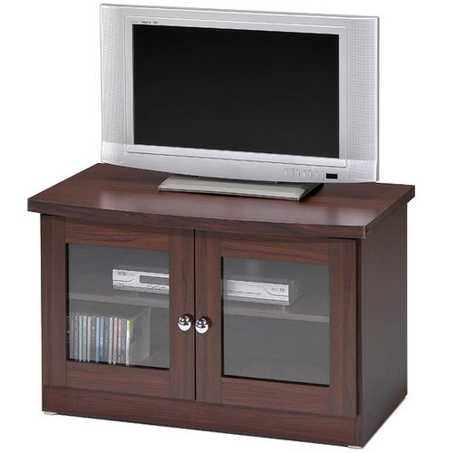 Homelike 簡約雙門電視櫃 胡桃木色