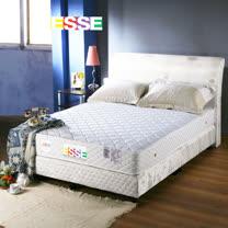 老師傅工藝《ESSE》御璽名床【精緻手工】二線獨立筒床墊5x6.2尺 -雙人