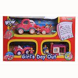 英國【WOW Toys 驚奇玩具】驚奇歡樂-女孩遊戲組 (三件一組)