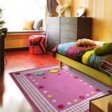 【范登伯格】尼羅河超卡哇埃及乳膠防滑進口兒童地毯-100X130cm