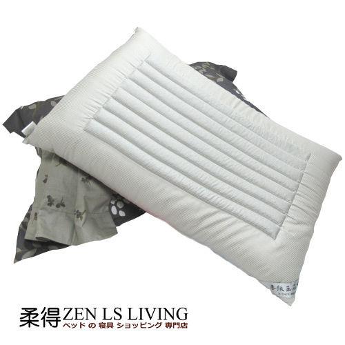 【柔得寢飾】ZEN 日本健康乳膠麥飯石枕 ZP107 (單入)