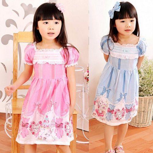 夏日《貓咪蝴蝶結-藍色》甜美氣質小洋裝【現貨+預購】