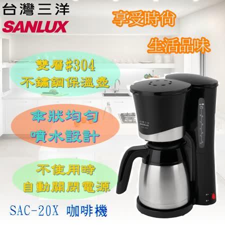 台灣三洋 SANLUX  12人份1000cc美式咖啡機