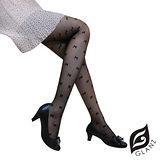 GLANZ格藍絲 日系甜美辛辣造型顯瘦透膚襪-甜美蝴蝶結