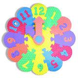 多彩拼圖學習時鐘(認知學習系列)