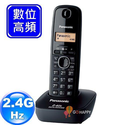 《Panasonic》 2.4GHz數位無線電話 KX-TG3411 (經典黑)