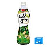 泰山仙草蜜茶500ml*4入
