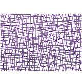 《KOZIOL》網紋硬餐墊(透紫)