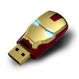 InfoThink鋼鐵人造型隨身碟16GB - MARK VI經典款