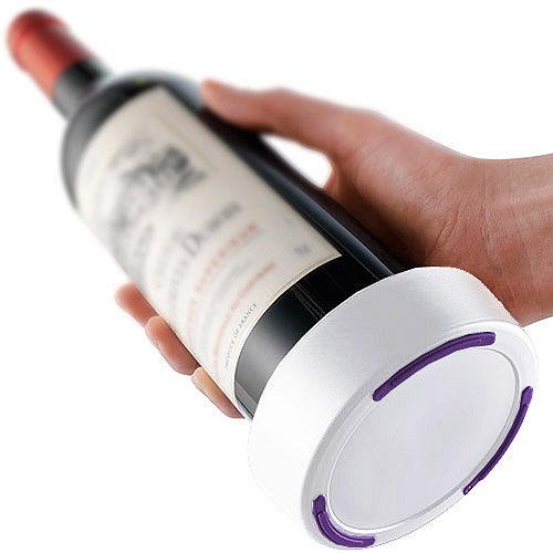 《VACU VIN》不滴漏酒瓶墊(紫白)