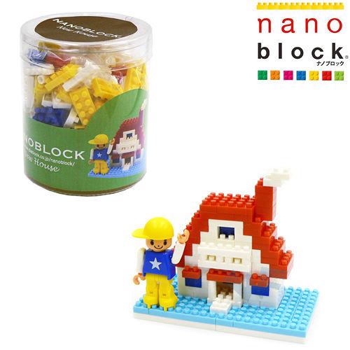 【Nano Block任選館】人生系列-新屋入住(ML-029)