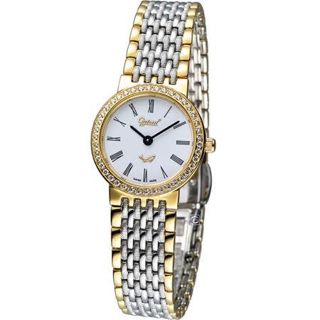 Ogival 愛其華薄型璀璨仕女腕錶 385-021DL