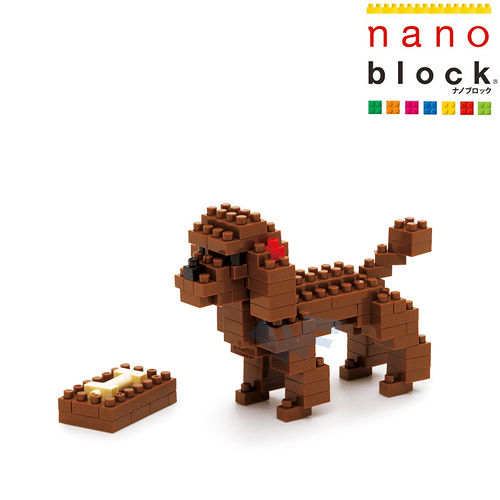 【Nano Block任選館】動物系列-紅貴賓狗 (NBC-060)