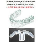 外銷歐美之防磨牙.大眾運動,單層軟式護牙套好戴,(3入牙套)